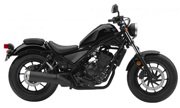 Honda Rebel 300 สีดำ