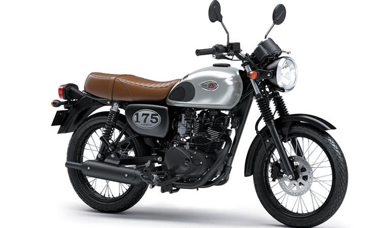Kawasaki W175 สีเทา