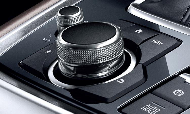 ปุ่มควบคุม Mazda CX-8