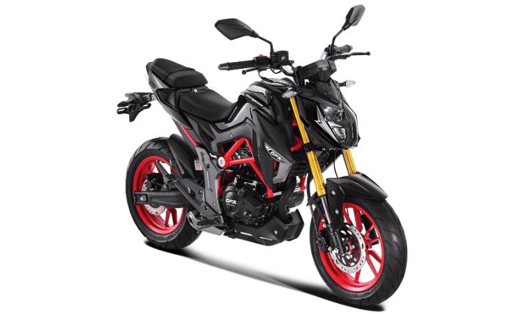 Demon 150 GN 2020 สีดำ