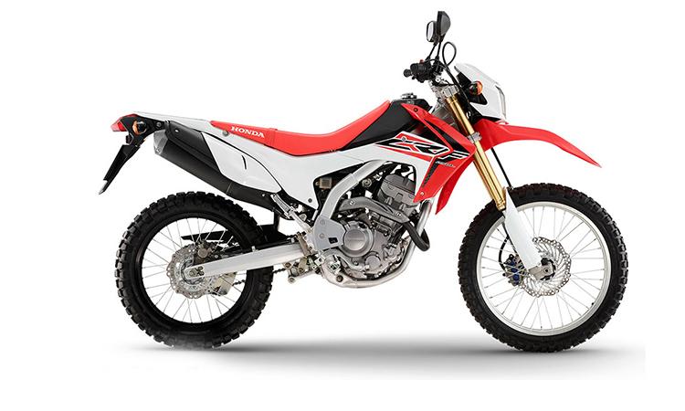 Honda CRF250L สีขาว-แดง