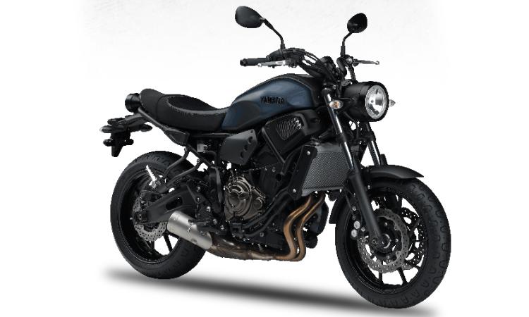 Yamaha XSR700 สี Matt Blue