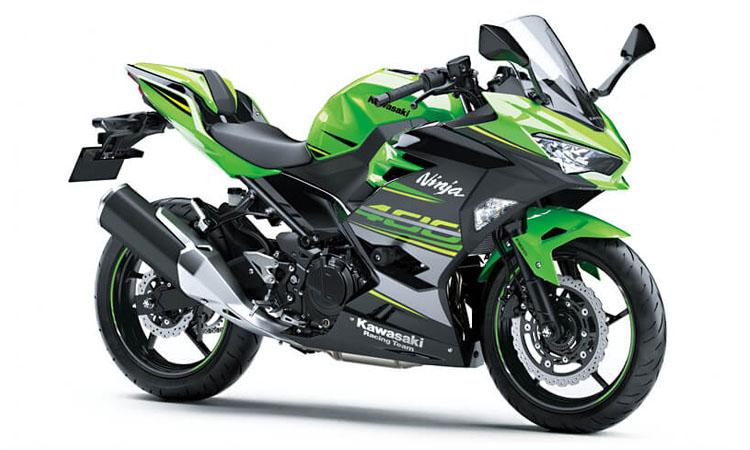 Kawasaki Ninja 400 สี LIME GREEN / EBONY (KRT EDITION)