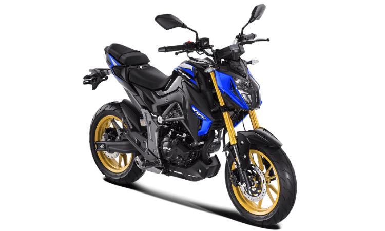 Demon 150 GN 2020 สีน้ำเงิน