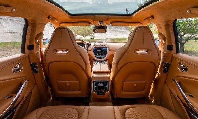 ดีไซน์เบาะ Aston Martin DBX