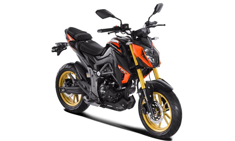 Demon 150 GN 2020 สีส้ม