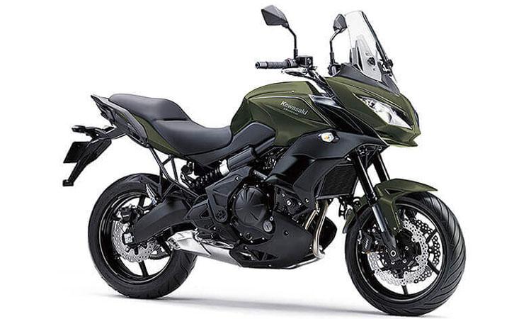 Kawasaki Versys 650 สี KHAKI