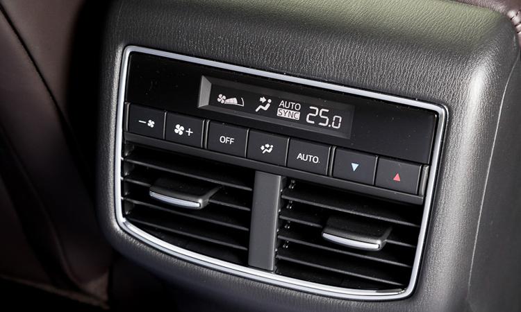 ช่องแอร์ตอนหลัง Mazda CX-8