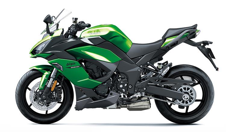 สีตัวถัง Kawasaki Ninja 1000 SX