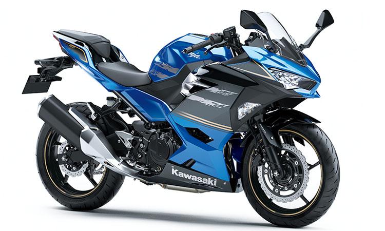 Kawasaki Ninja 400 สี BLUE