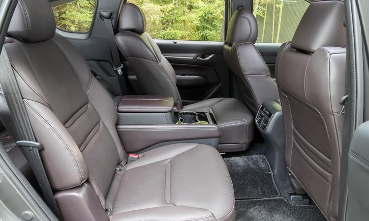 เบาะนั่งผู้โดยสาร Mazda CX-8