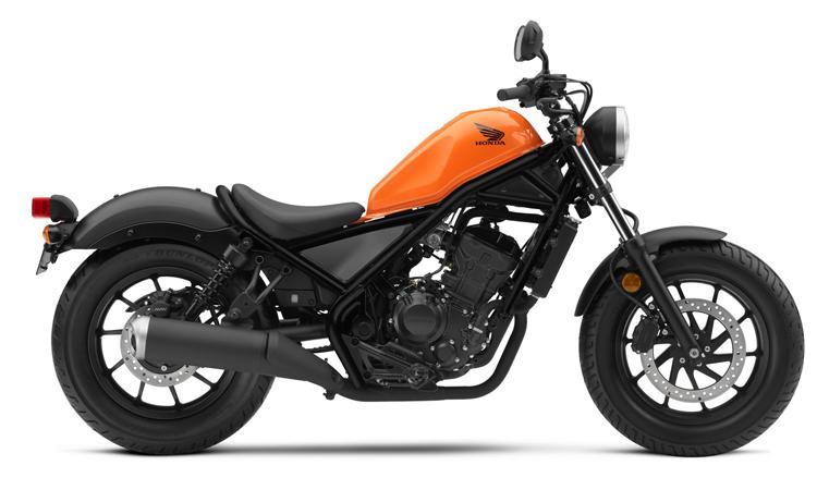 Honda Rebel 300 สีส้ม