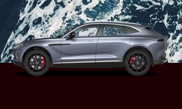 สีตัวถัง Aston Martin DBX สีเทา