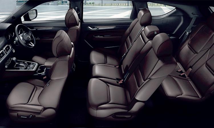 ดีไซน์เบาะ Mazda CX-8