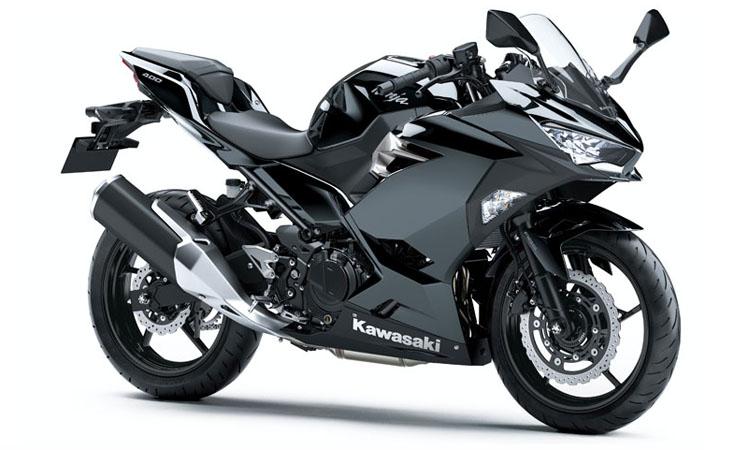 Kawasaki Ninja 400 สี METALLIC SPARK BLACK