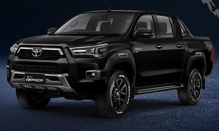 Toyota Hilux REVO ROCCO (Minorchange) สีดำ Attitude Black Mica
