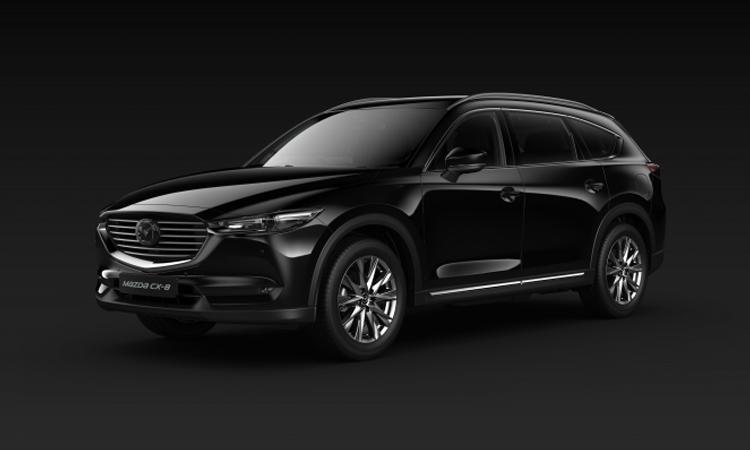 All NEW Mazda CX-8 สีดำ Jet Black