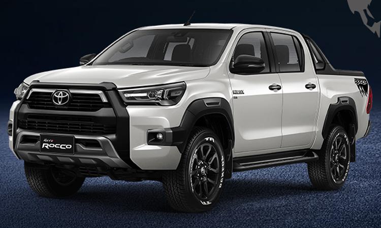 Toyota Hilux REVO ROCCO (Minorchange) สีขาวมุก White Pearl CS