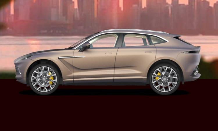 สีตัวถัง Aston Martin DBX สีทอง