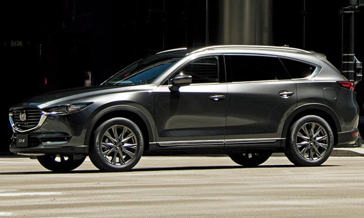 ดีไซน์ All-New Mazda CX-8