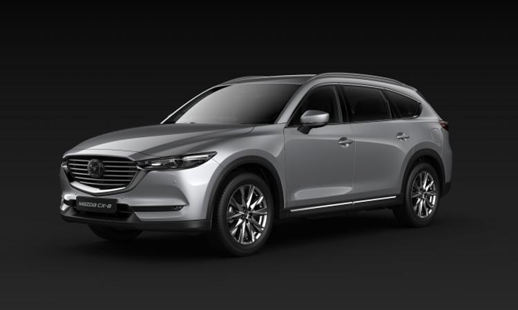 All NEW Mazda CX-8 สีเงิน Sonic Silver