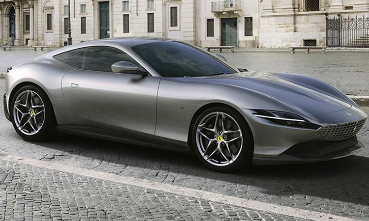 ดีไซน์ภายนอก Ferrari Roma