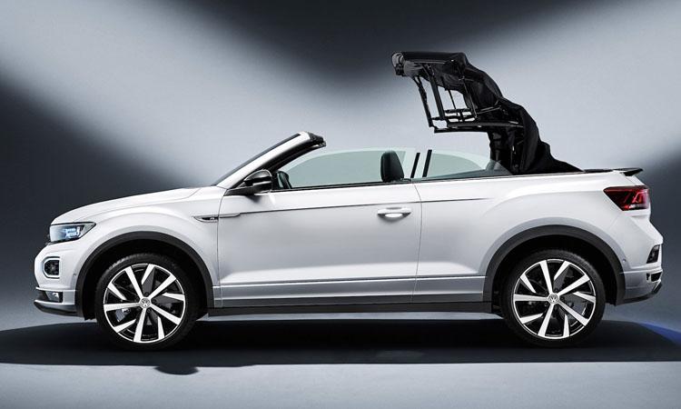 หลังคาเปิดประทุน Volkswagen T-Roc Cabriolet