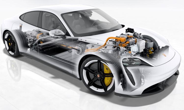 เครื่องยนต์ Porsche TAYCAN