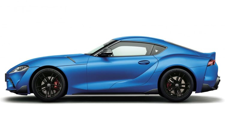 Toyota GR SUPRA 2020 EDITION สีน้ำเงิน Horizone Blue (NEW : Special Edition)