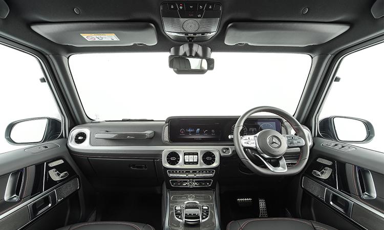ภายใน Mercedes-Benz G 350 d Sport