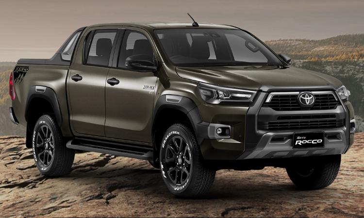 ราคา ตารางผ่อนดาวน์ Toyota Hilux REVO ROCCO (Minorchange)