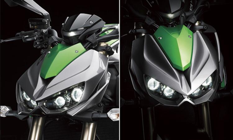 ไฟหน้า Kawasaki Z1000
