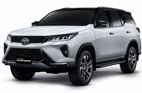 ราคา ตารางผ่อนดาวน์ Toyota Fortuner LEGENDER (Minorchange)