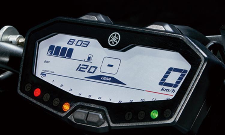 เรือนไมล์ Yamaha MT 07