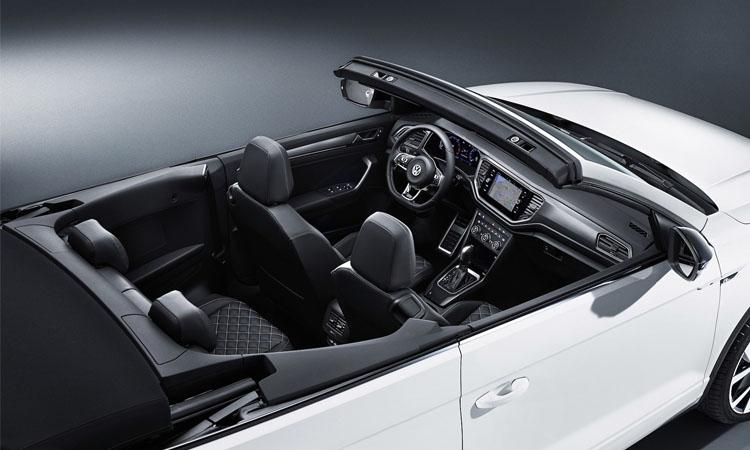 ภายใน Volkswagen T-Roc Cabriolet