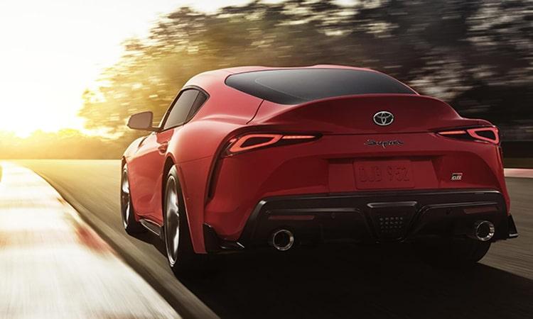 ด้านหลัง Toyota GR SUPRA 2020 EDITION