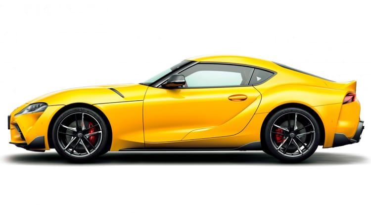 Toyota GR SUPRA 2020 EDITION สีเหลือง Lightning Yellow