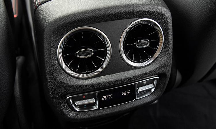ช่องแอร์ด้านหลัง Mercedes-Benz G 350 d Sport