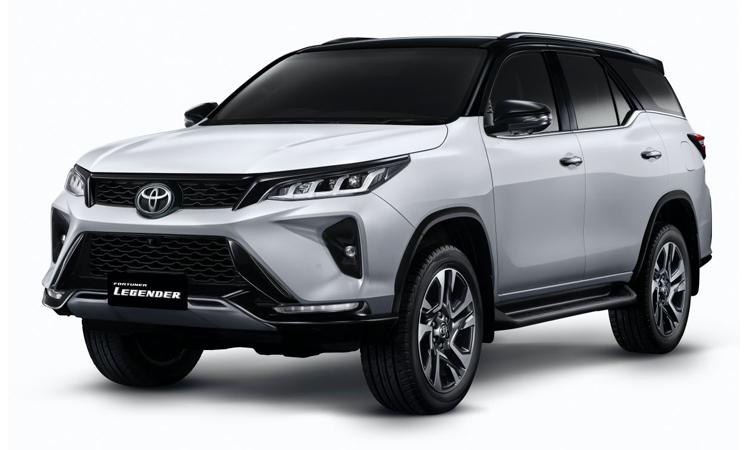 ดีไซน์ Toyota Fortuner LEGENDER