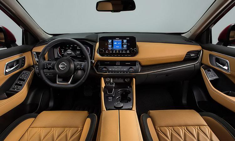 ภายใน Nissan X-Trail 2021