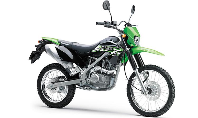 Kawasaki KLX150 สีเขียว