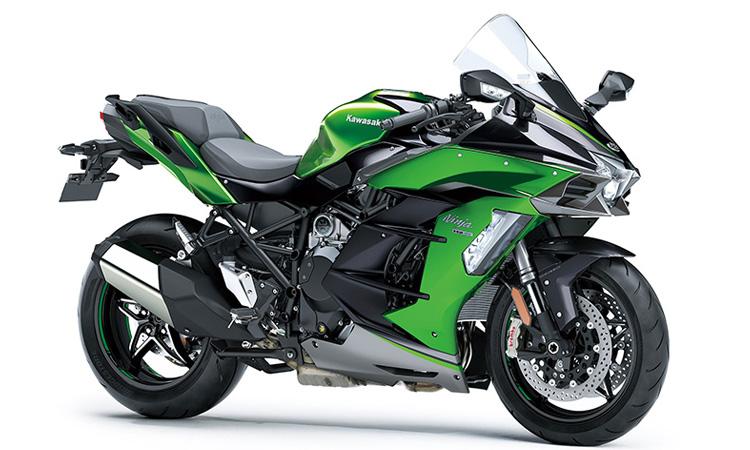 Kawasaki Ninja H2 SX SE+สีเขียว