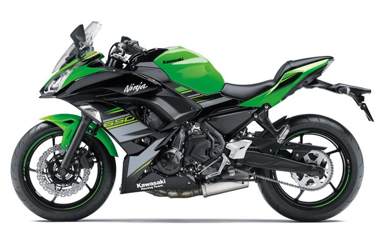 Kawasaki Ninja 650 สี LIME GREEN / EBONY (KRT EDITION)