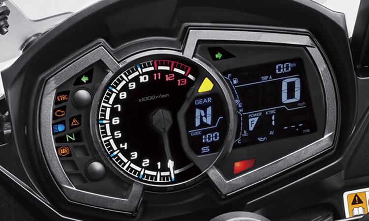 เรือนไมล์ Kawasaki Ninja 1000