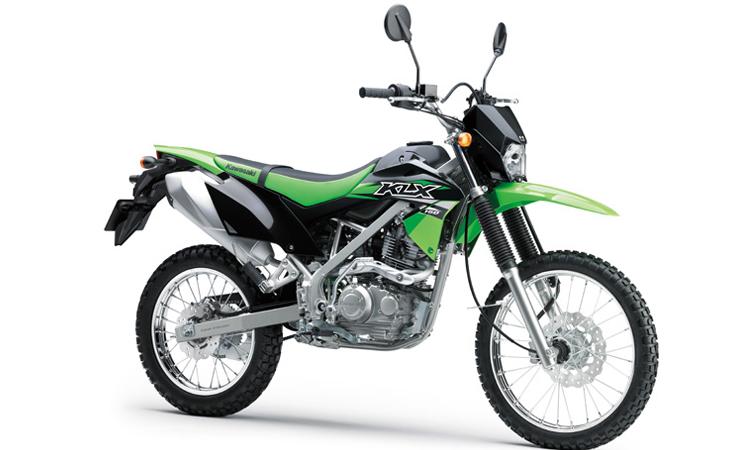 Kawasaki KLX150 สีดำ