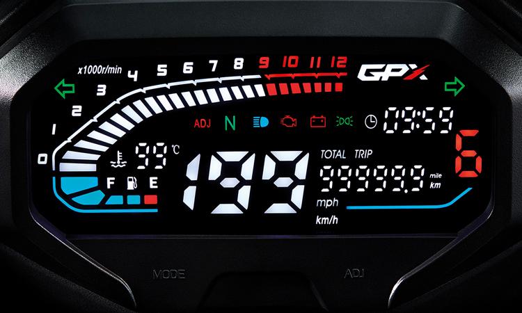 เรือนไมล์ New GPX DEMON GR200R