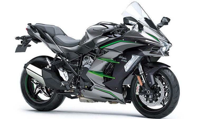 Kawasaki Ninja H2 SX SE+ีเทา