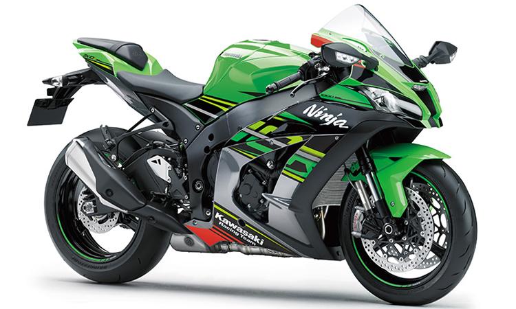 Kawasaki Ninja ZX-10R สี LIME GREEN / EBONY / METALLIC GRAPHITE GRAY
