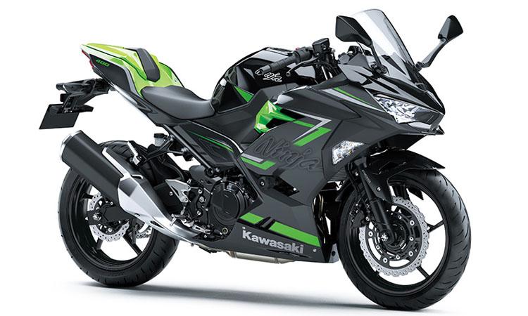 Kawasaki Ninja 400 สี EBONY / METALLIC MAGNETIC DARK GRAY