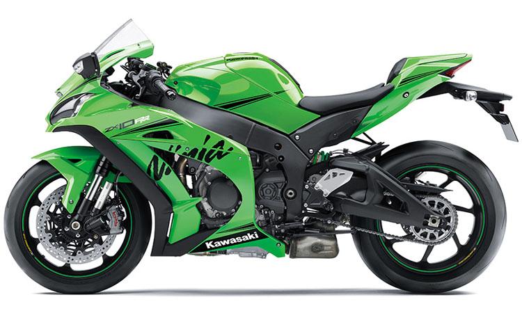 สีตัวถัง Kawasaki Ninja ZX-10RR